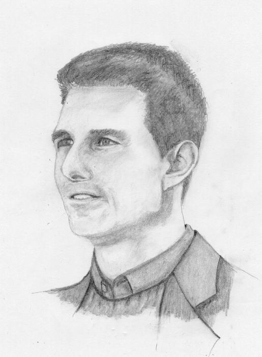 Tom Cruise by JimmyE